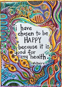 Happiness Voltaire Quote